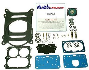 Holley Carb Kit For 3160 Model 3 Barrels 3916 4604 New Correct Gaskets Hi Per