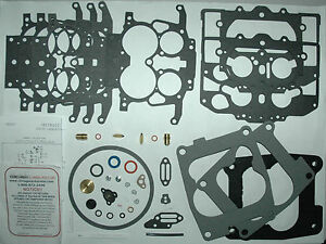 1972 76 Carb Kit Carter Thermal Quad Tq Mopar 4 Barrel New Fits 100 Of S