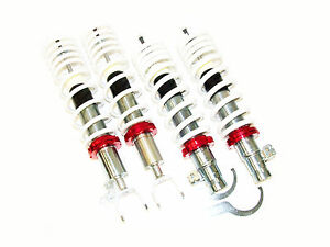 Truhart Basic Sport Coilovers 92 00 Civic Eg Ek Del Sol 94 01 Integra Dc2