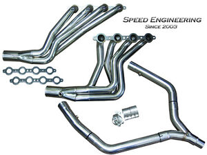 Speed Engineering Ls1 Camaro Firebird Headers Y pipe 1 3 4 Race Version F body