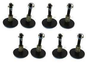 8 Snow Plow Shoe Foot Assemblies For Blizzard Skid Steer Loader 810ss 8611ss