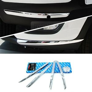 Chrome Bumper Guard Protector Garnish Molding Trim For Kia 2011 2016 Sportage R