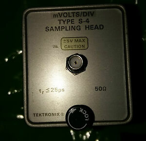 Tektronix Type S 4 Sampling Head