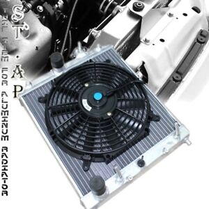 88 00 Civic del Sol integra Racing Aluminum Automatic At Radiator 10 Inch Fan