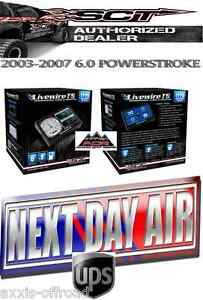 Sct Livewire Ts 5015p Programmer Tuner For 2003 2007 6 0 Ford Powerstroke Diesel