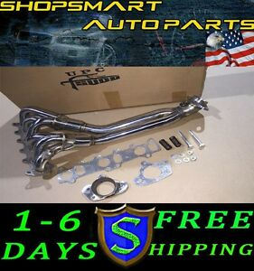 Tsudo 92 04 Volkswagen Vw Jetta golf Mk3 mk4 Vr6 Stainless Exhaust Chrome Header