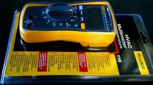 Fluke 116 Digital Multimeter For Hvac Meter Temp And Microamp