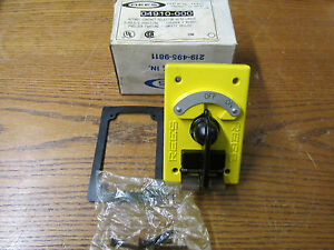New Nos Rees 04910 000 Rotary Contact Selector With Latch 2 Poles 2 Position