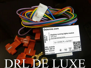 Drl Universal Module Relay Daytime Running Lights With Coming Leaving Home