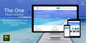 Website Html The One Muse Template Hosting Domain