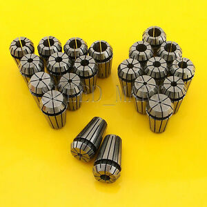 21pcs Er16 Spring Collet Chuck Tool Set Cnc 1mm 10mm 1 5mm 9 5mm 1 8 1 4