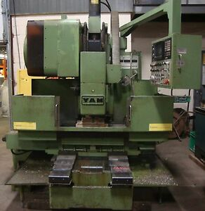 Yang Iron Works Cnc Mill Fanuc 10m Model A 20 Tool Changer Yam 18714isu