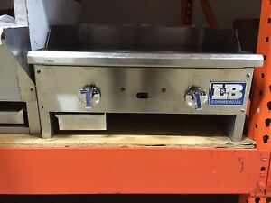 L b Commercial Manual Control Griddle 24 Gas