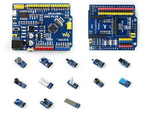 Uno Plus Pack Mega328p Development Board Uno R3 Compatibe Sensor Modules