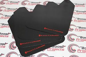 Rally Armor Basic Universal Mud Flaps Red Mf12 Bas Rd Global Ship In Stock