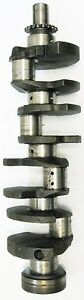 Chevy 7 4 454 Late Model 85 And Up Cast Iron Crank With Main Rod Bearings