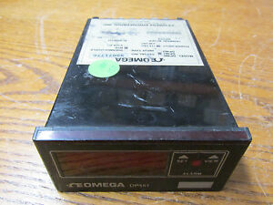 Omega Dp461 Digital Temperature Meter 115 Volts A c Input Type Rtd