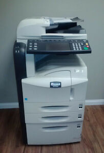 Km 5050 Kyocera Copier Multifunction Printer copier scanner fax With Fax Card
