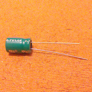 1f farad 2 7v Capacitor Supercapacitor Ultracapacitor Very Low Esr