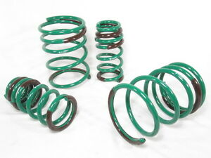 Tein S tech Lowering Springs Kit 02 04 Acura Rsx Base Type s Dc5 Ska28 aub00