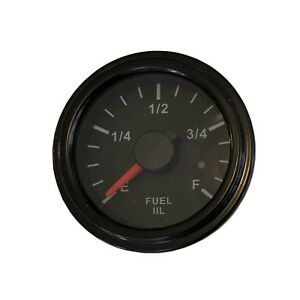 Fuel Gauge 2 52mm Full Ranges Led Low Fuel Warning 001 F Bb 17
