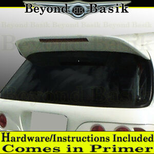 1992 1995 Civic 3dr Hatchback Spoon Style Trunk Spoiler Wing W led Unpainted