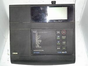 Orion 420a Ph Meter W stand