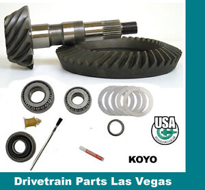 Usa Standard Gm 10 5 14 Bolt 3 73 Ratio Ring And Pinion Gear Set Install Kit Pk