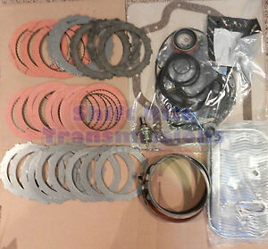 Th350 Master Overhaul Kit Rebuild Bands Seals Gaskets Clutches Modulator Filter