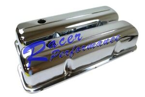 Chrome Steel Valve Covers Ford Fe Bb 352 390 406 427 428 1958 1976