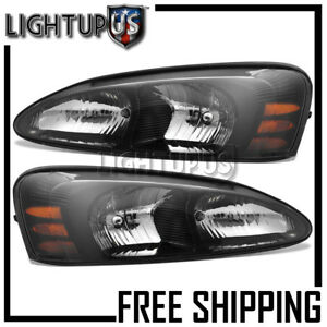 2004 2008 Pontiac Grand Prix Left Right Sides Pair Headlamps Headlights