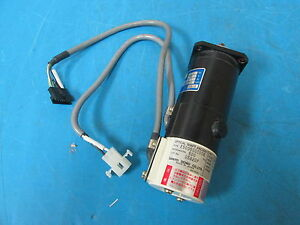 Sanyo R511 012el7 Dc Servo Motor Super R With E500500c00b Optical Shaft Encoder