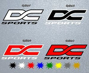 Sticker Pegatina Decal Vinyl Dc Sports