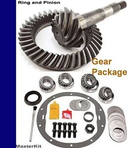 Ford 10 25 3 73 Ratio Gear Set Ring Pinion Master Install Kit Package Usa Std