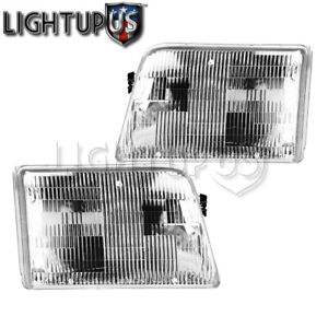 1993 1997 Ford Ranger Left Right Sides Pair Headlamps Headlights
