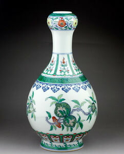 Beautiful Doucai Porcelain Vase