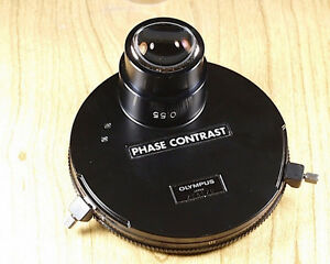 Olympus 0 55 Phase Contrast Condenser For Inverted Microscope