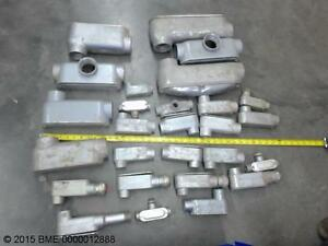 Electrical Fittings Clamps Straps Lb s Etc Various Sizes To 2
