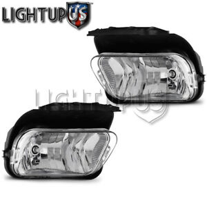 Left Right Sides Pair Fog Lights For 2002 2006 Chevrolet Avalanche Silverado