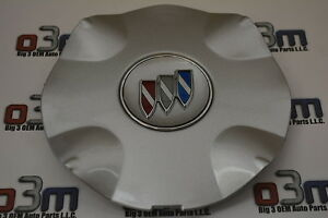 2000 2003 Buick Park Avenue Wheel Center Cap W Tri shield Logo New Oem 9593518