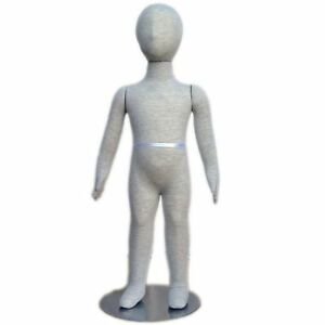 Mn 339 Pinnable Flexible Child Kid Mannequin With Head 2 10 18m 24m