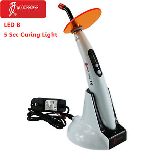 Original Woodpecker Led B Dental Wireless Led Curing Light Lamp 1400mw 100