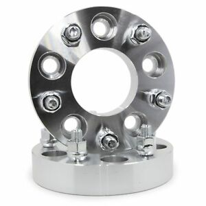 2 Wheel Spacers Adapters 5x5 To 5x120 1 25 14x1 5 Studs