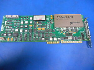 National Instruments At mio 16x 50pin Data Acquisition Board