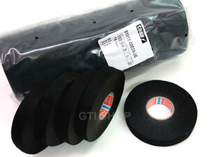 5 Roll Tesa 51618 Cable Wire Harness Wiring Looms Tape 19mm X 25m