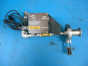 Fisons Pump Control Kevex Liquid Gas Pump Control With Asco Solenoid Valve