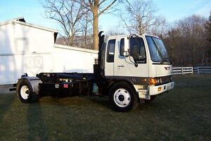 95 Hino Hooklift Refuse Truck Roll Off 10 15mpg Cdl 33k Gvw Air Only 73k Miles