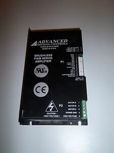 Amc Bd30a8b Lvd Brushless Pwm Servo Amplifier
