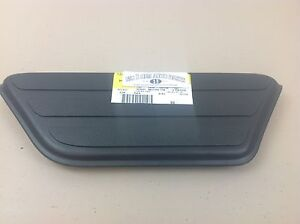 1999 2005 Chevrolet Silverado Gmc Sierra Lh Front Bed Black Step Pad Mat New Oem