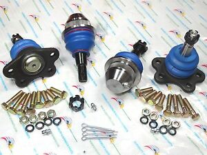 4 Front Forged Lower Arm Upper Ball Joints For K1500 K2500 Tahoe Suburban K6509